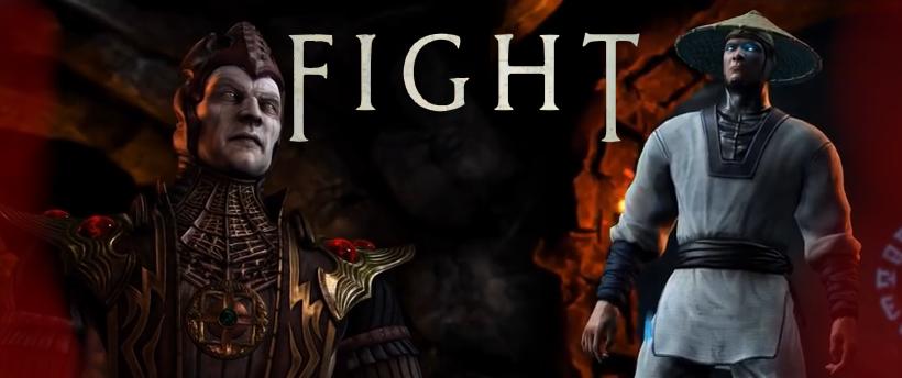 Shinnok contre Raiden,une confrontation que j'ai hâte de voir !