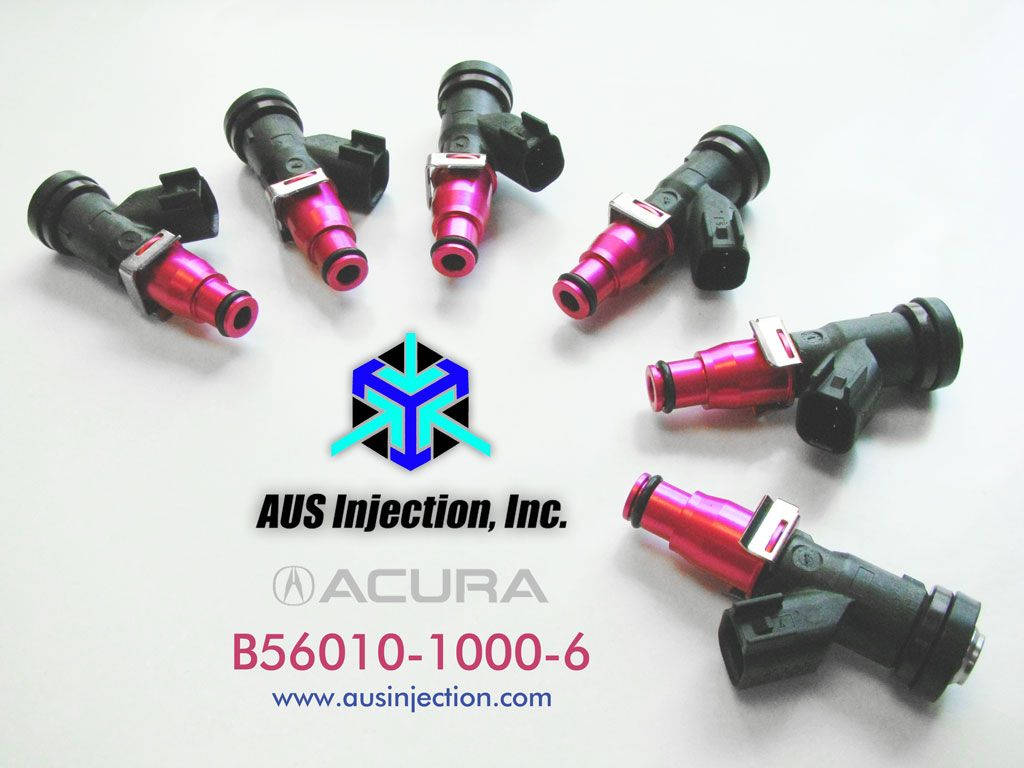 ACURA High Performance Fuel Injectors 1000 cc/min | Fuel Injectors