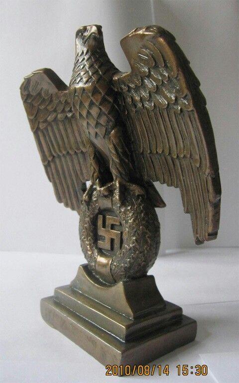 Nazi eagle | Nazi Germany's dark past | Pinterest | Eagles