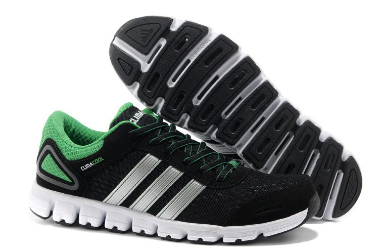 Adidas Climacool CC Modulate M Black Green Silver | Running shoes ...