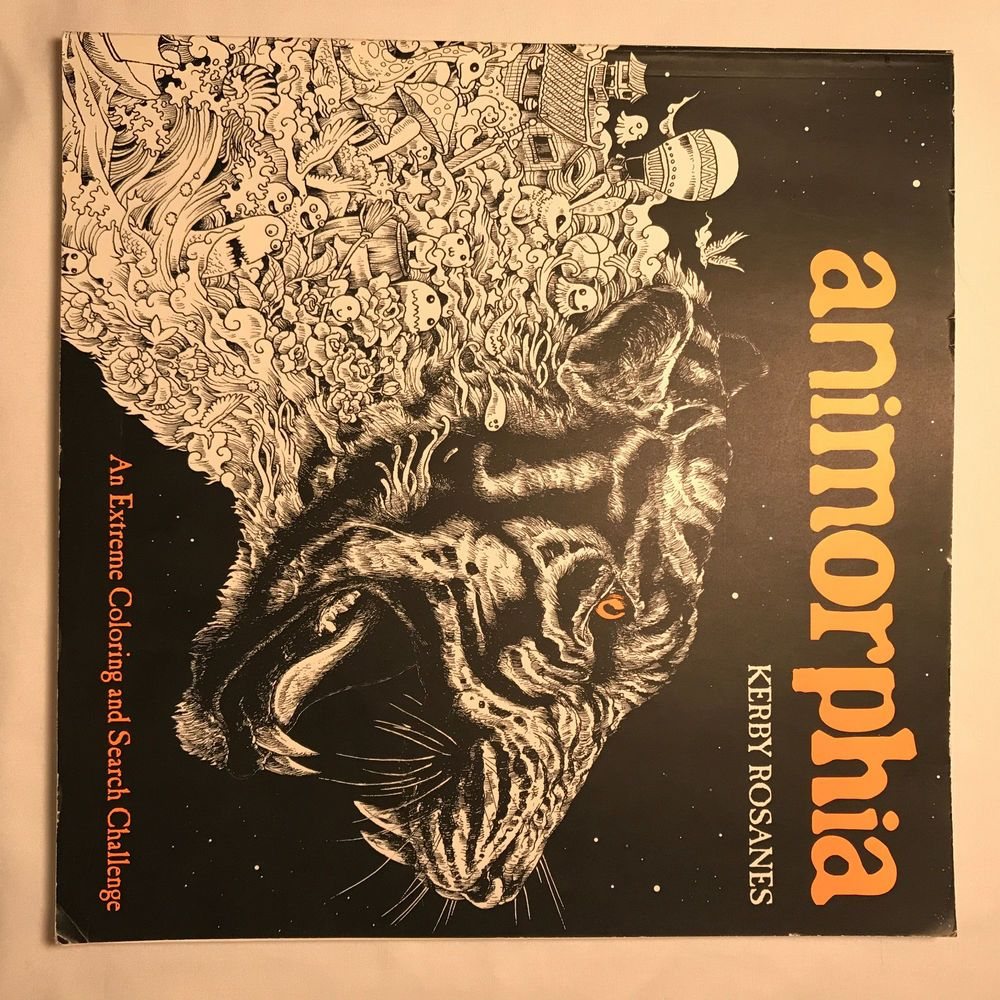 Animorphia an extreme coloring and search challenge by kerby rosanes - Animorphia Used Extreme Coloring And Search Challenge Kerby Rosanes 2015 Paper