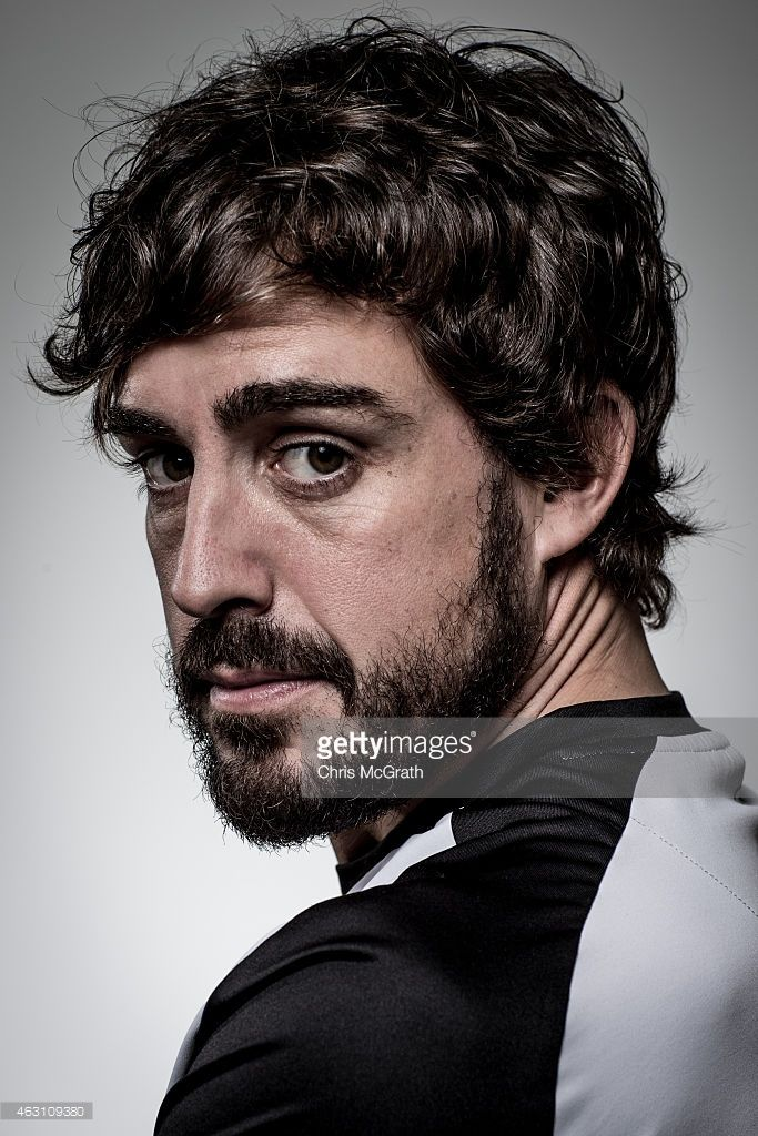 McLaren-Honda driver Fernando Alonso poses for photographs in a portrait session at the Honda Motor Co. headquarters on February 10, 2015 in Tokyo, Japan. Honda Motor Co., Ltd. held a press conference in the run-up to the Australian Grand Prix of the FIA Formula One World Championship (F1) happening in March 13-15, 2015. McLaren-Honda drivers Fernando Alonso and Jenson Button expressed their enthusiasm for the first race.