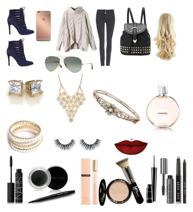 """""""Cold weather!!!!! Yay!!!!!!!!!!"""" by daisydaisy123 ❤ liked on Polyvore featuring Wallis, NARS Cosmetics, Mary Kay, Prada, BCBGeneration, ZooShoo, Ray-Ban, It Cosmetics, Charlotte Russe and MAC Cosmetics"""