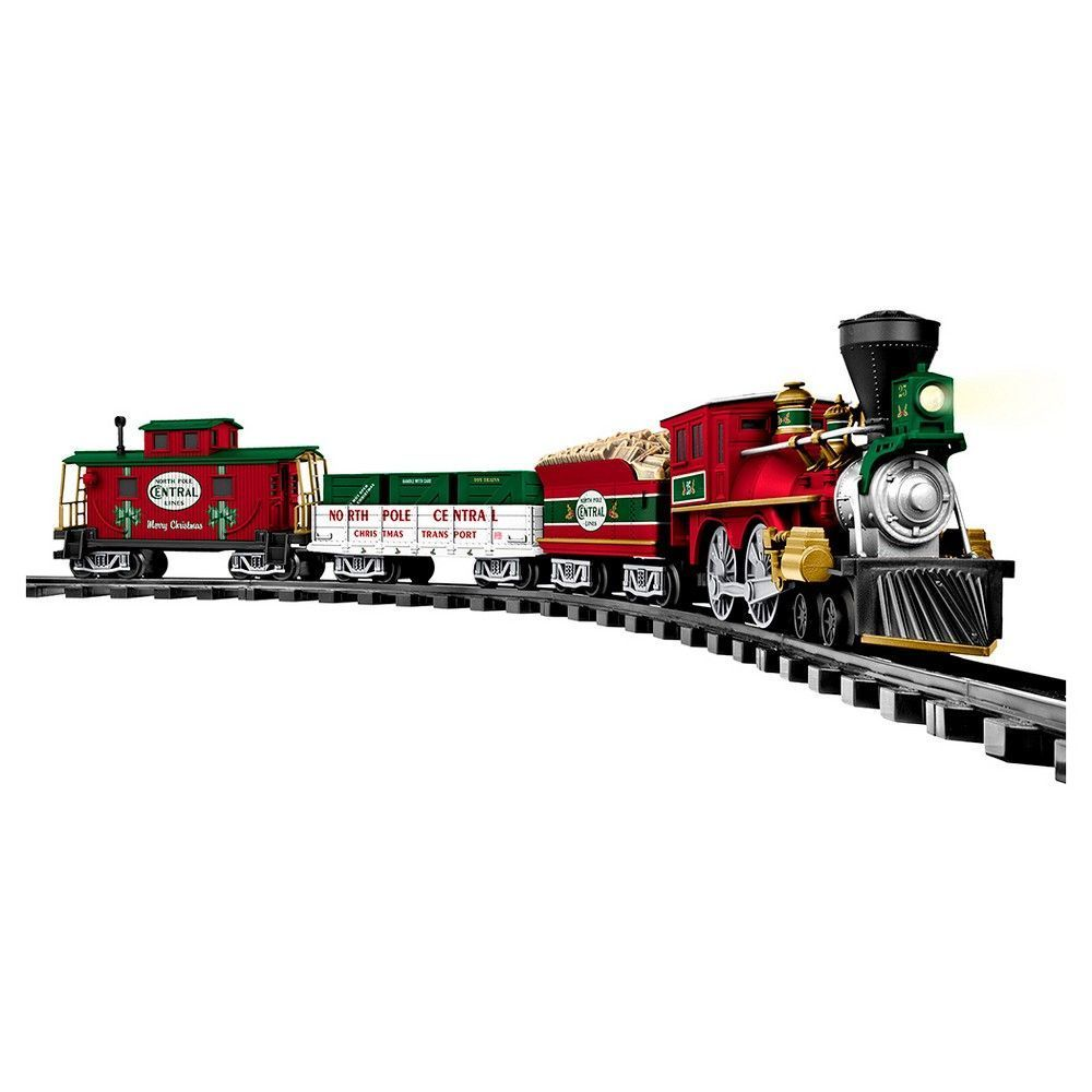 Lionel North Pole Central Ready-to-Play Train Set | Tips For Lionel ...