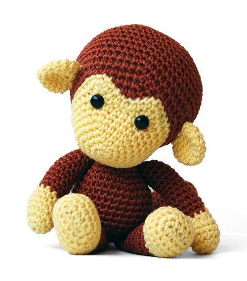 Johnny the Monkey amigurumi pattern by Pepika | Amigurumi