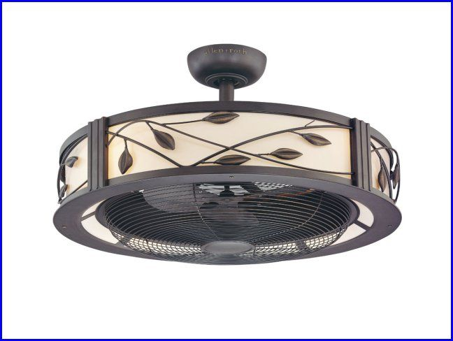 Enclosed Ceiling Fan With Light Cage Enclosed Ceiling Fan With