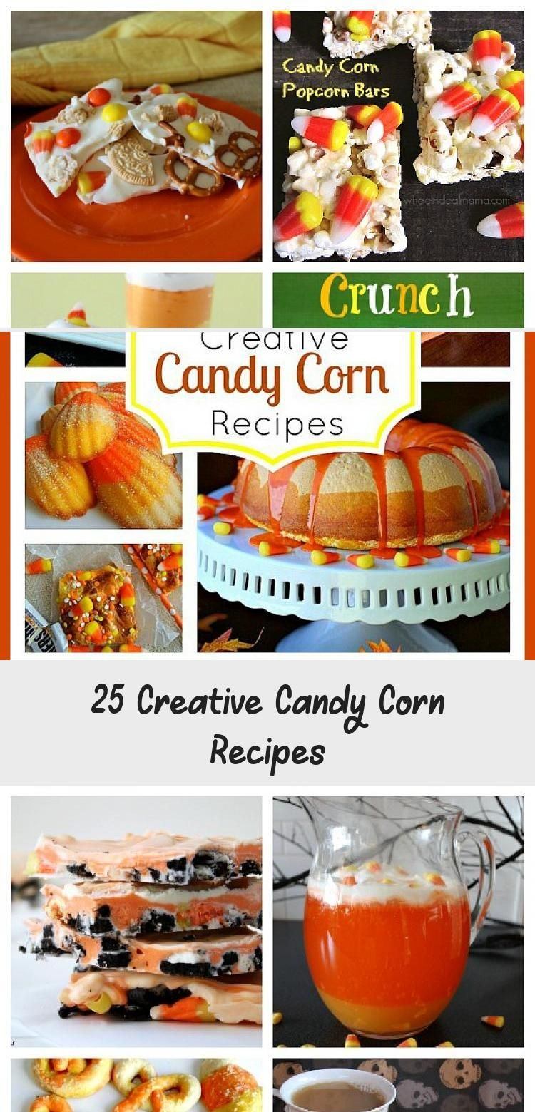 25 Creative Candy Corn Recipes #candycorncookies