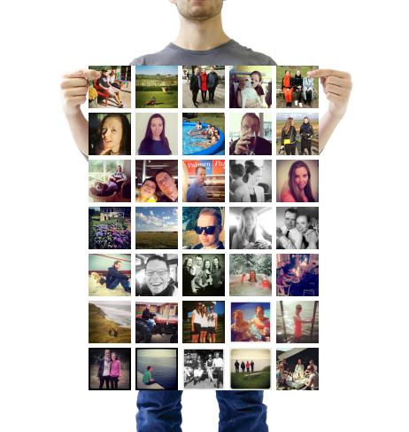 Jeg har lige gjort mine Instagrams til magneter med #Sticky9! Få 30% rabat på din bestilling med FRIEND12ALW