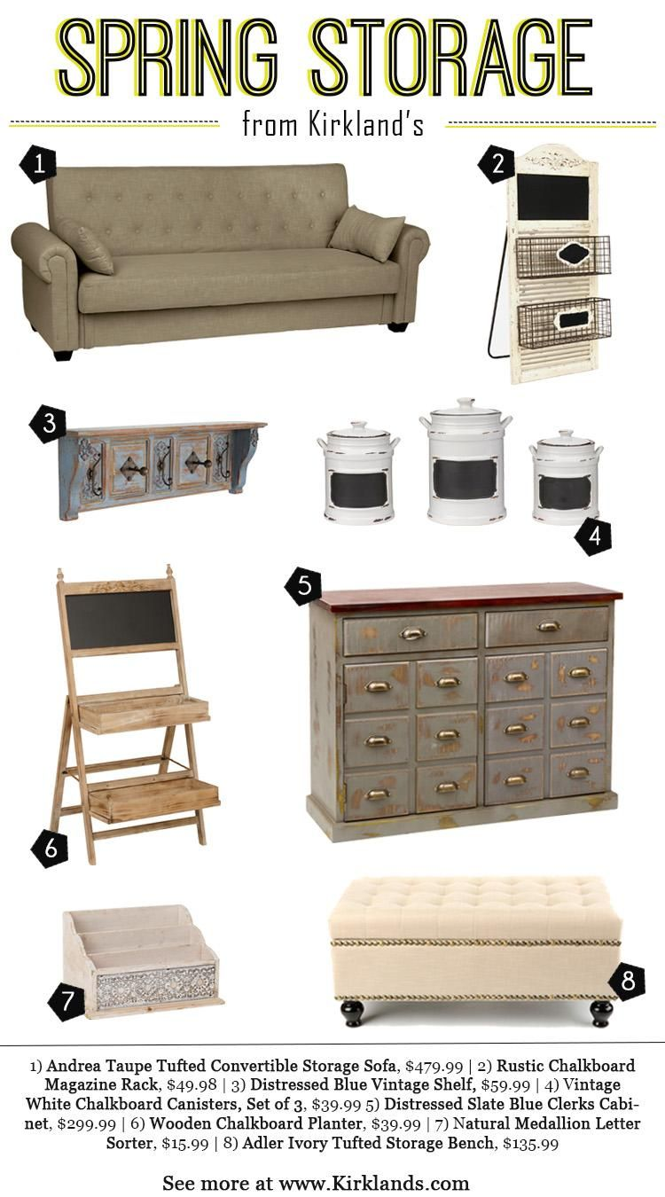 Shop Kirklandu0027s For A Stylish Way To Keep Your Home Organized! Storage  Benches, Cabinets
