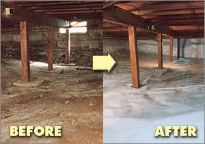 Crawl Space Encapsulation Products Clean Space Crawl Space Encapsulation System For Maximum Crawl Sp Crawl Space Encapsulation Crawlspace Crawl Space Storage