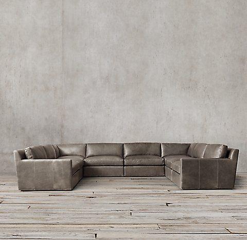 Belgian Track Arm Modular Collection | RH | Sectional sofa ...