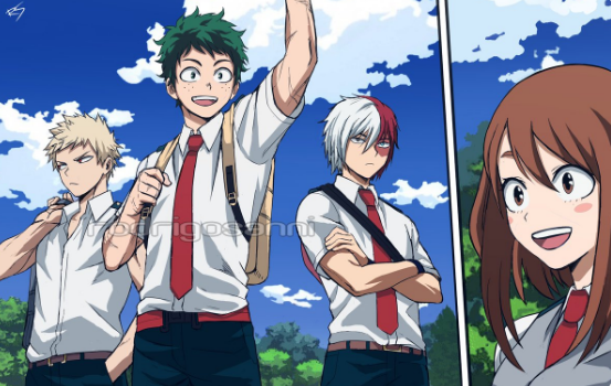 'My Hero Academia' FanArt Imagines its Perfect Timeskip