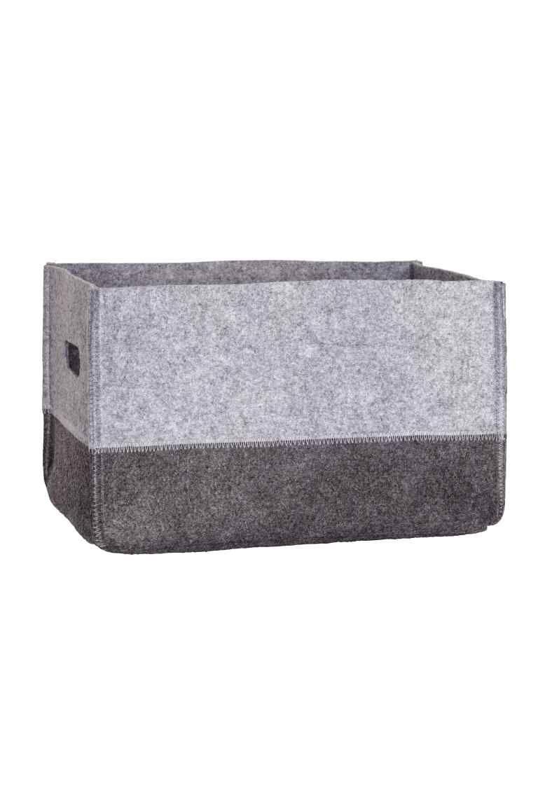 £15 - Large felt storage basket  sc 1 st  Pinterest & Large felt storage basket | Storage baskets Felting and Storage