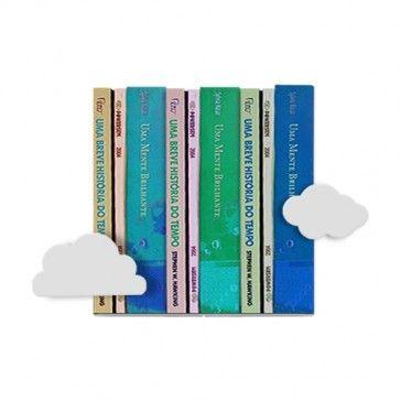 Aparador de Livros Nuvens R$32