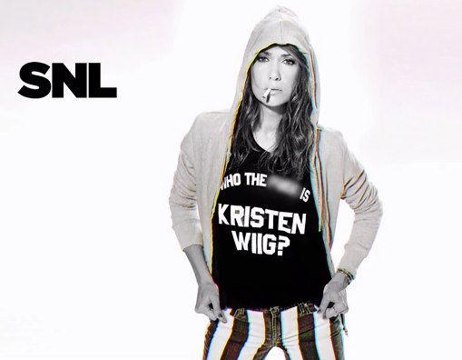 Kristen Wiig rocks!