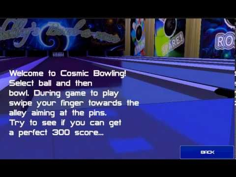 Cosmic Bowling for OSX/iPhone/iPad/iPod Touch/Android