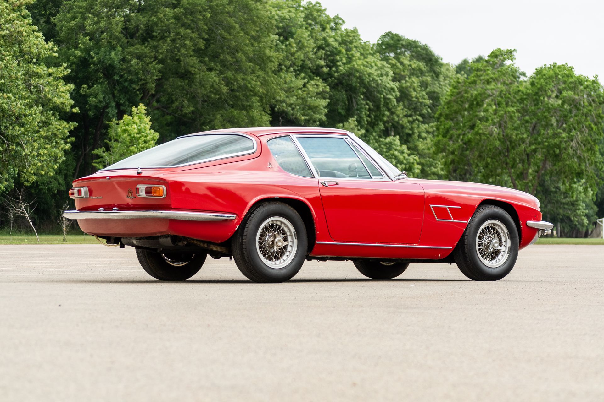1967 Maserati Mistral 4000 GT Alloy Project   Maserati ...