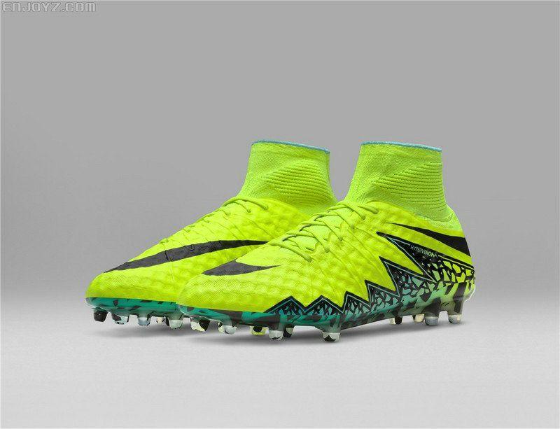 843830315192 Nike Hypervenom Phantom II FG 2018 Word Cup Soccer Cleats Volt Hyper  Turquoise Clear Jade