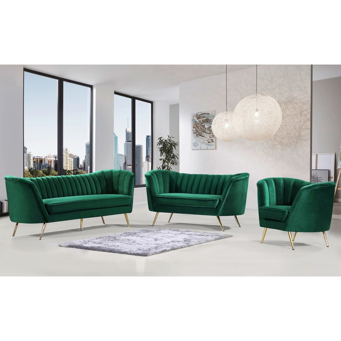 The Curvy Sofa Trend fell in love with The Velvet Sofa Trend and