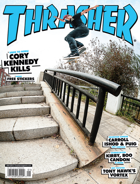 bbb7c9b1731 This is an example of a front cover of Thrasher Magazine.