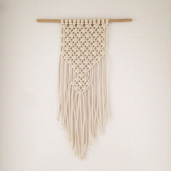 Wall Hangings Etsy macrame wall hanging / bison | macrame wall hangings, macrame and
