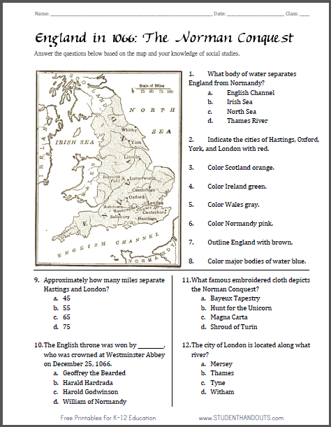 Norman conquest england 1066 map worksheet free to print pdf norman conquest england 1066 map worksheet free to print pdf file gumiabroncs Choice Image