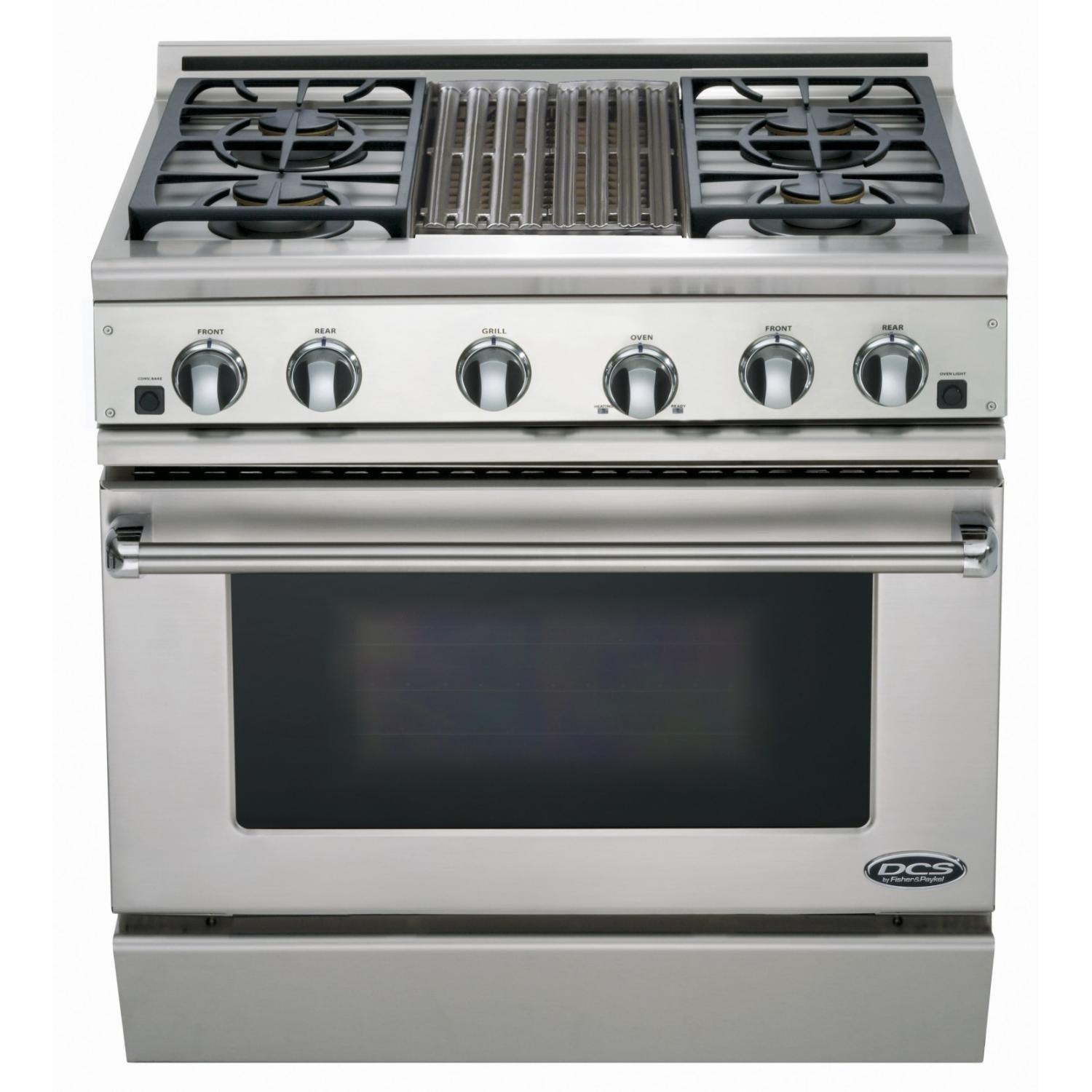 Fisher Paykel Professional Formerly Dcs 36 Inch 4 Burner Natural Gas Range With Griddle Rgv2 364gdn N Bbqguys Gas Stove Kitchen Stove Outdoor Kitchen Appliances