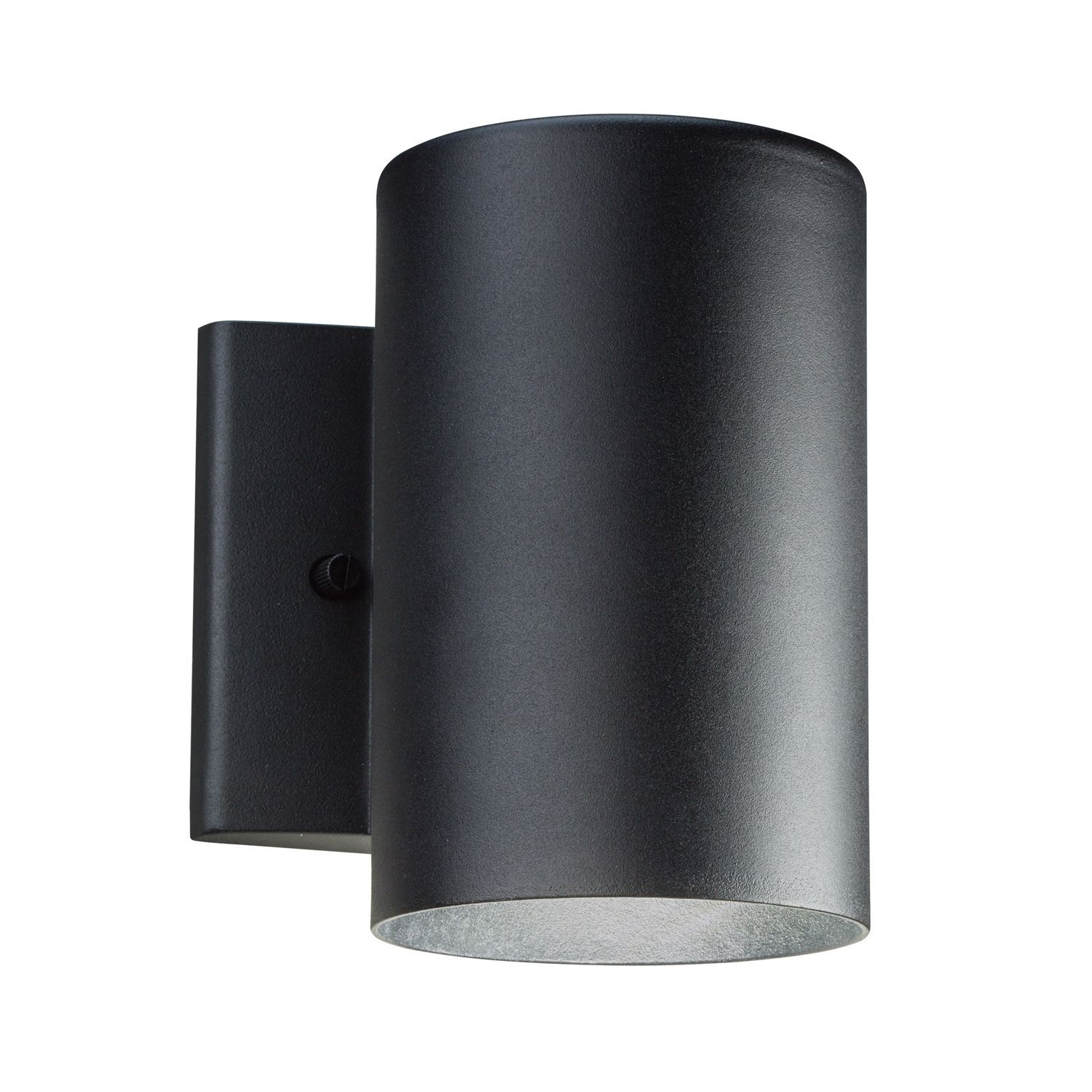 Cylinder Led Downlight Wall Sconce By Kichler 11250azt30 Led Outdoor Wall Lights Outdoor Wall Lighting Outdoor Wall Sconce