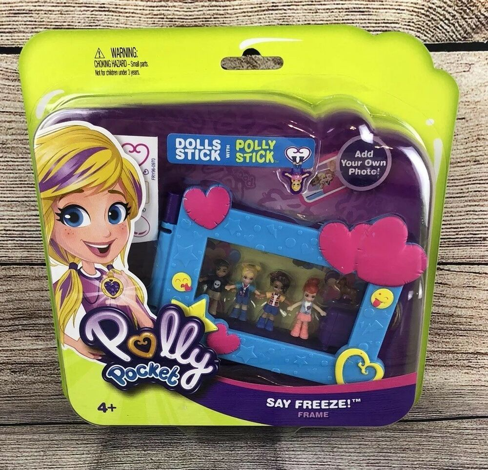 Picture Photograph Toy Polly Pocket Say Freeze Frame