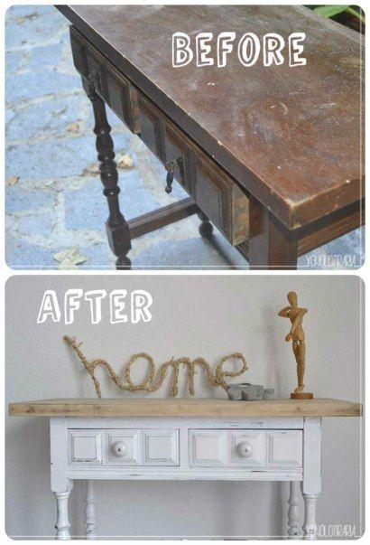 Renovating Old Furniture