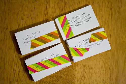 Diy Last Minute Business Cards