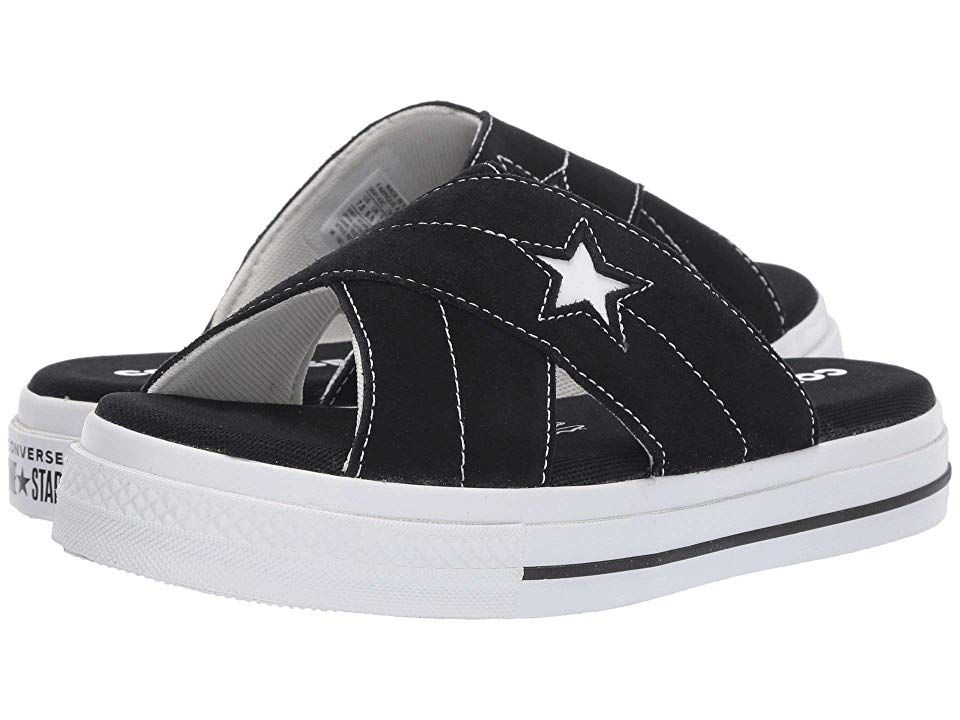 Converse One Star Sandal Slip Women's Sandals BlackEgret