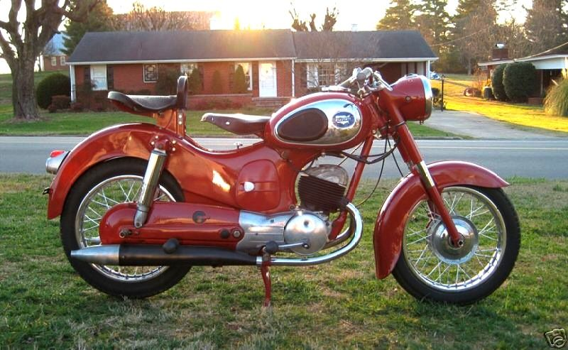 1956 Sears Allstate 175cc Two Stroke Made In Austria For The Us Market Classic Bikes Vintage Motorcycles Classic Motorcycles