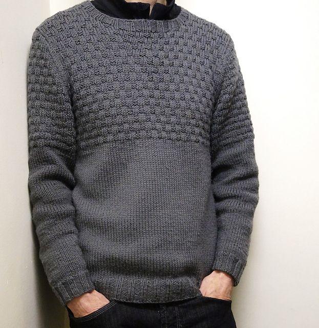Finsbury Park Sweater pattern by Jane Howorth | Tejido, Patrones de ...