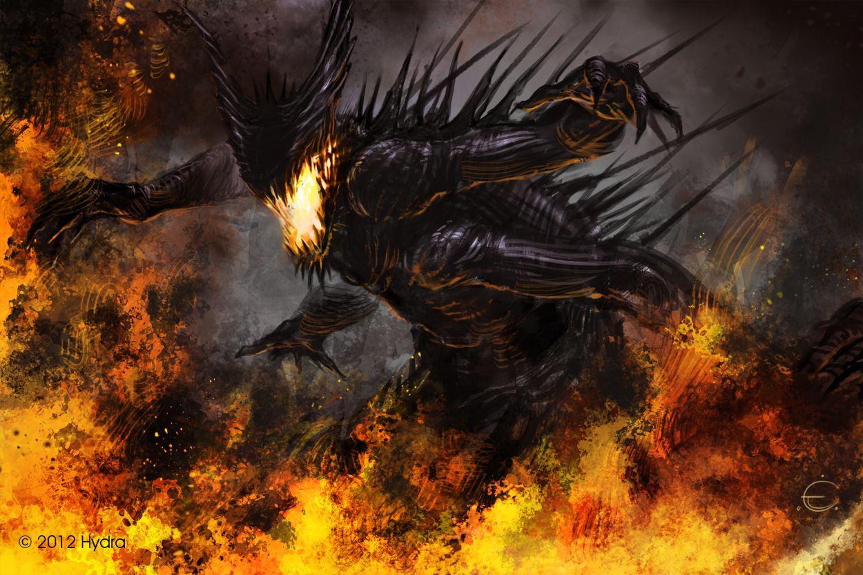 Chaos Demon by 000Fesbra000 Demon, Humanoid creatures