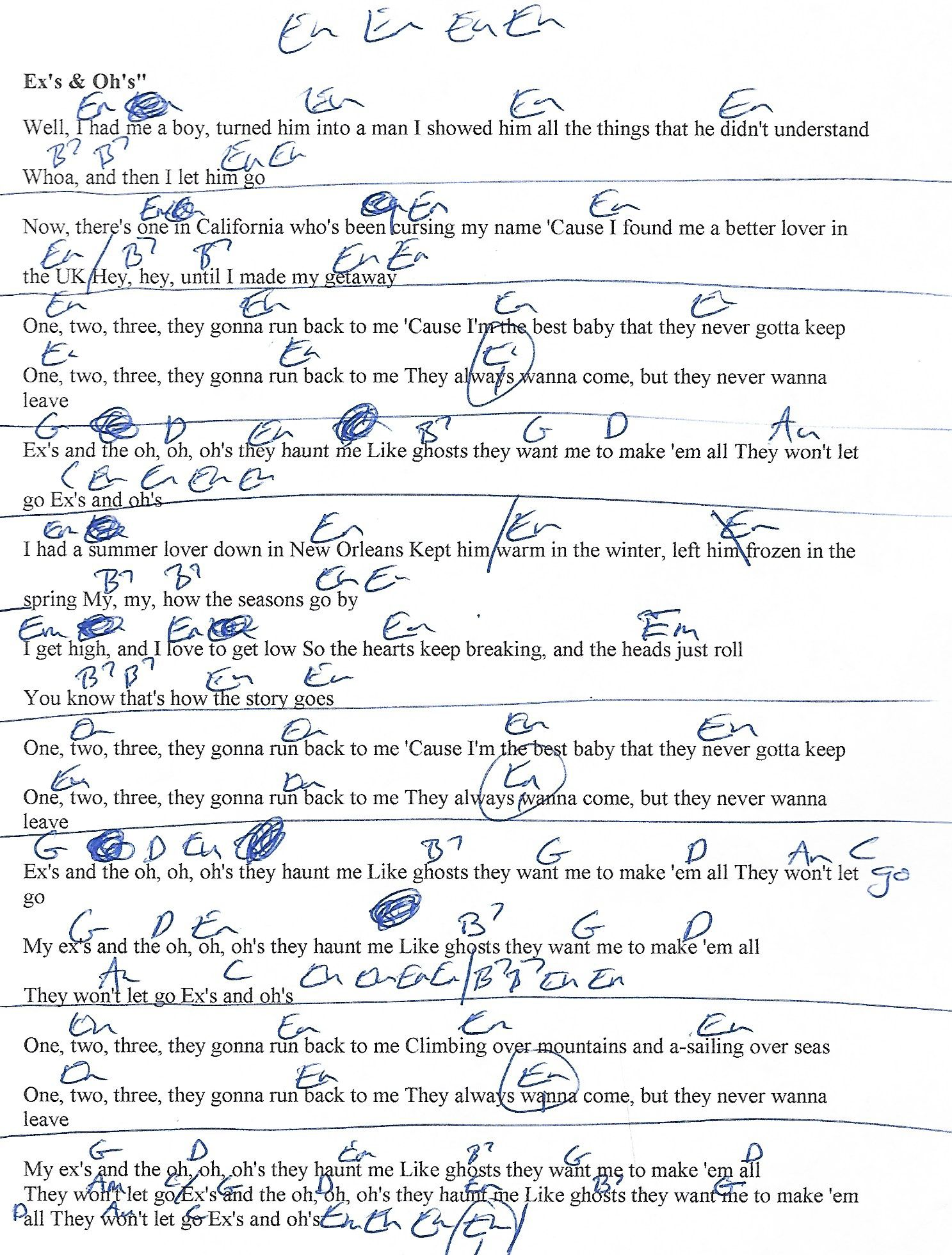 Old Fashioned Guitar Chords For Let It Go Festooning - Song Chords ...