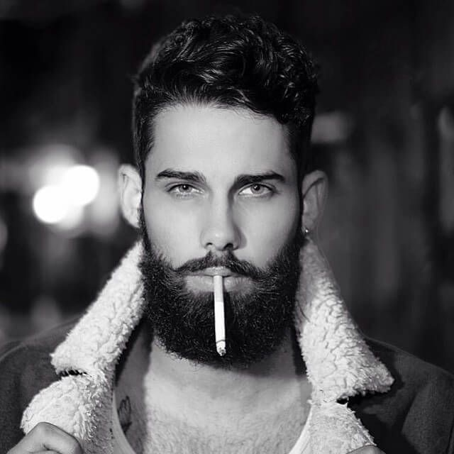 Choosing The Perfect Hairstyle and Beard Combination Peinados - peinados hipster