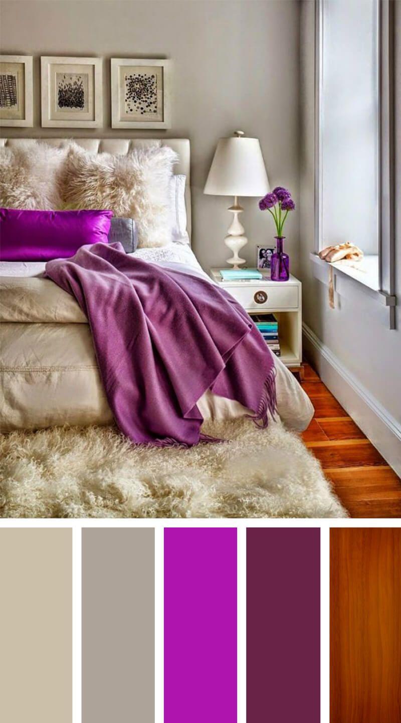 12 gorgeous bedroom color scheme ideas to create a magazine worthy boudoir erste wohnungromantisches schlafzimmer - Romantische Schlafzimmer Farbschemata