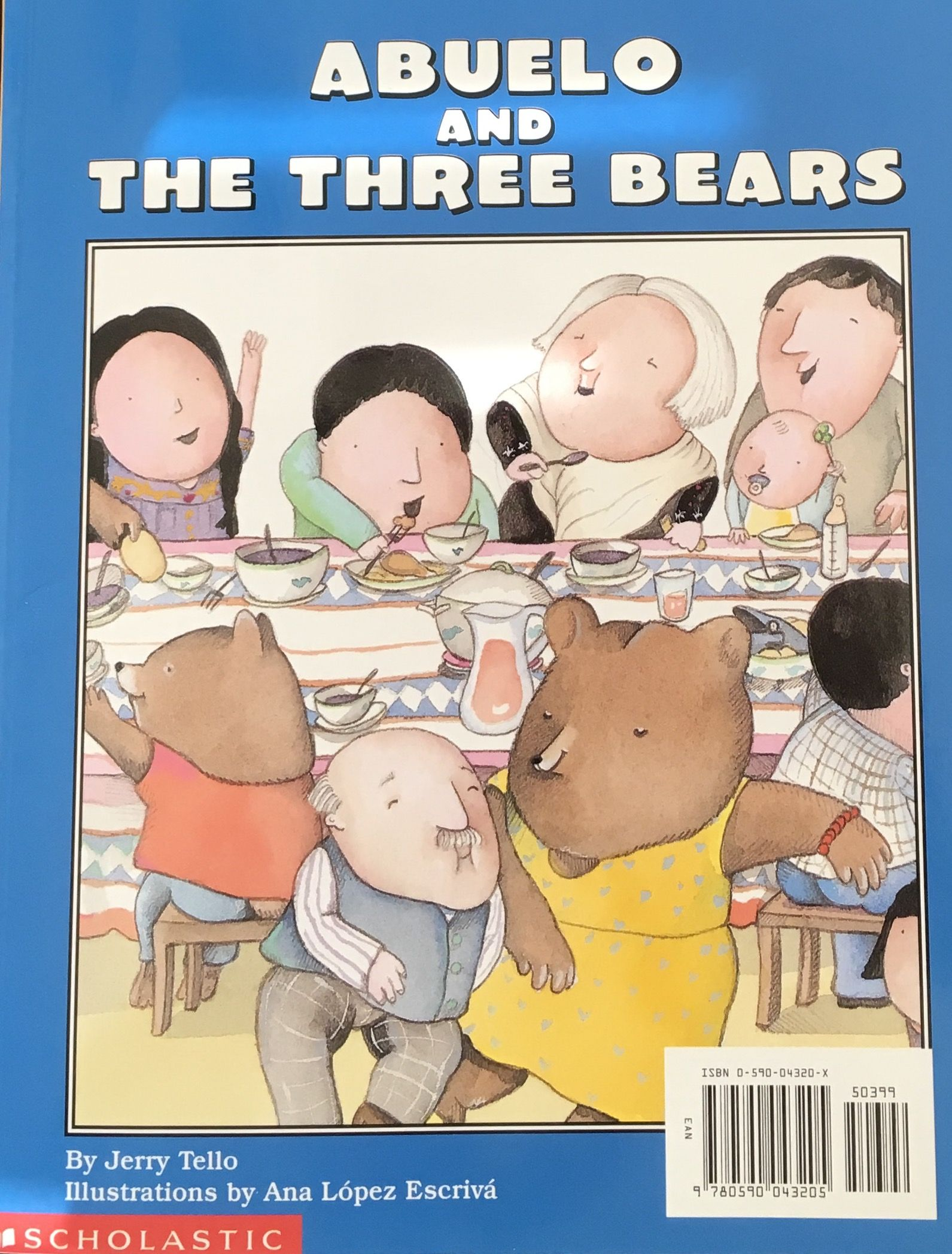 Abuelo and the three bears by jerry tello abuela