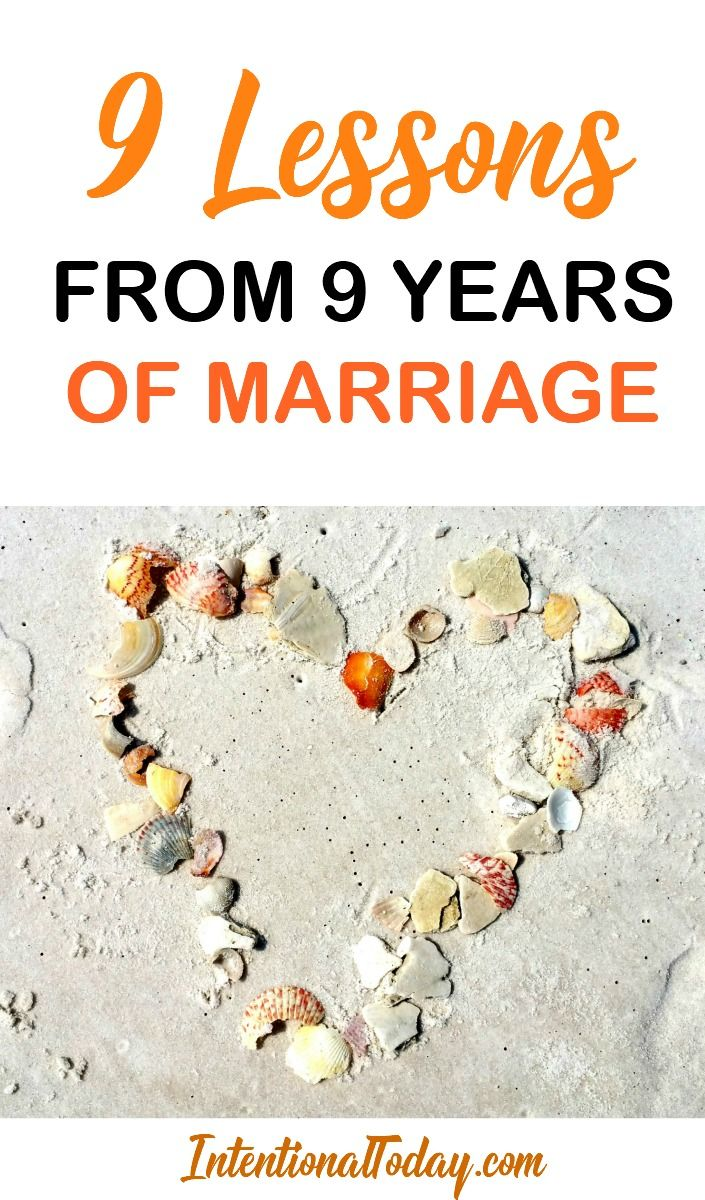 9 Things I Have Learned in 9 Years of Marriage + Pictures