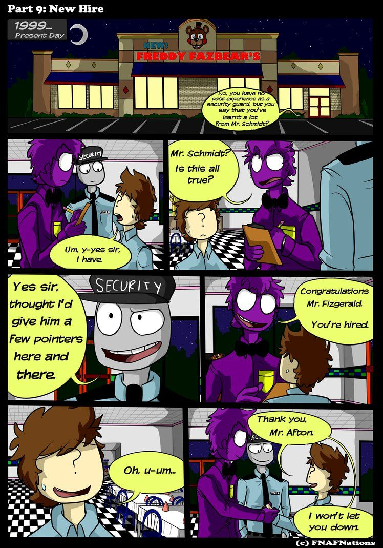 Fnaf Comics En Español two shades of purple comic pt. 9fnafnations | fnaf night