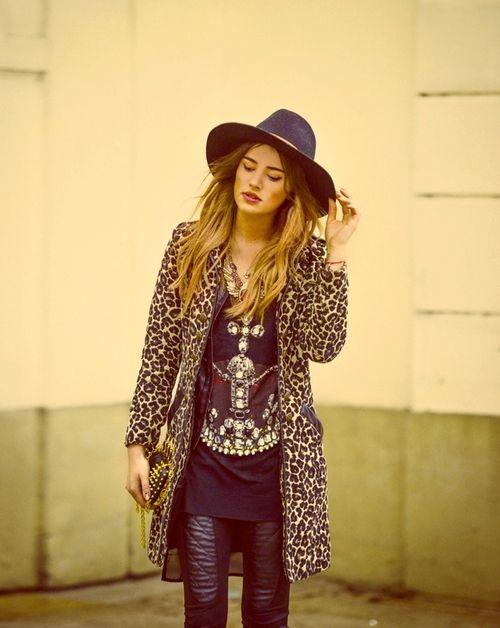 alt country rock wear leopard in the city pinterest mode rock et tenues mode. Black Bedroom Furniture Sets. Home Design Ideas