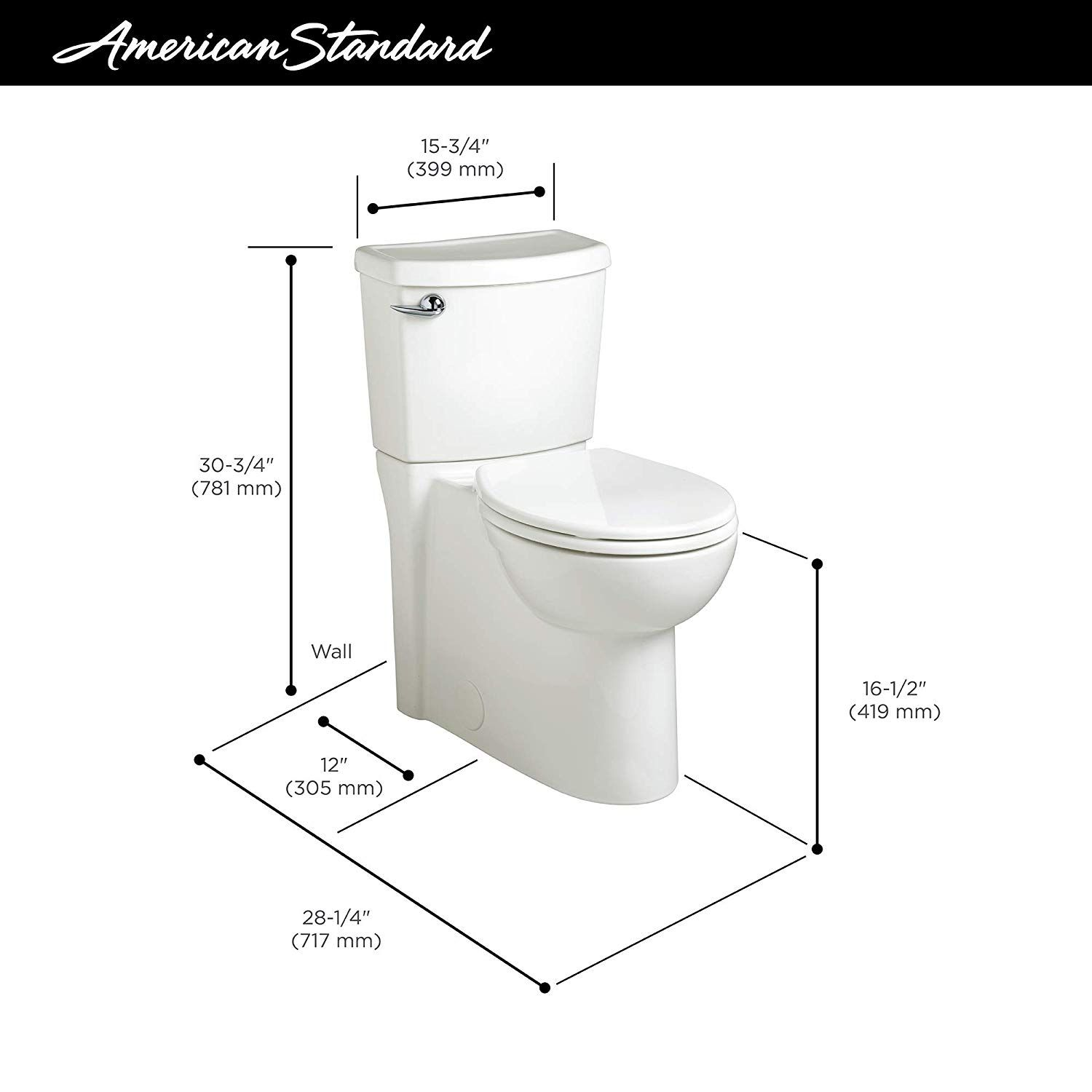 Pin By Theresa Pena On Powder Room2 American Standard Toilet