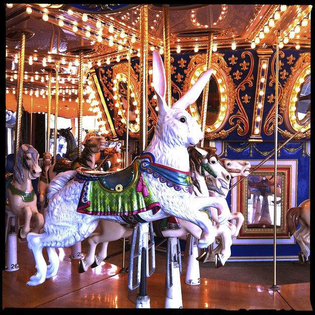 Old Orchard Beach Me Carousel Amut Rides Fireworks Parades