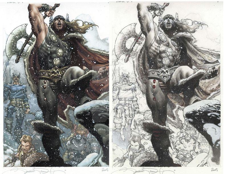 403 Forbidden Art, Thor, Comic artist
