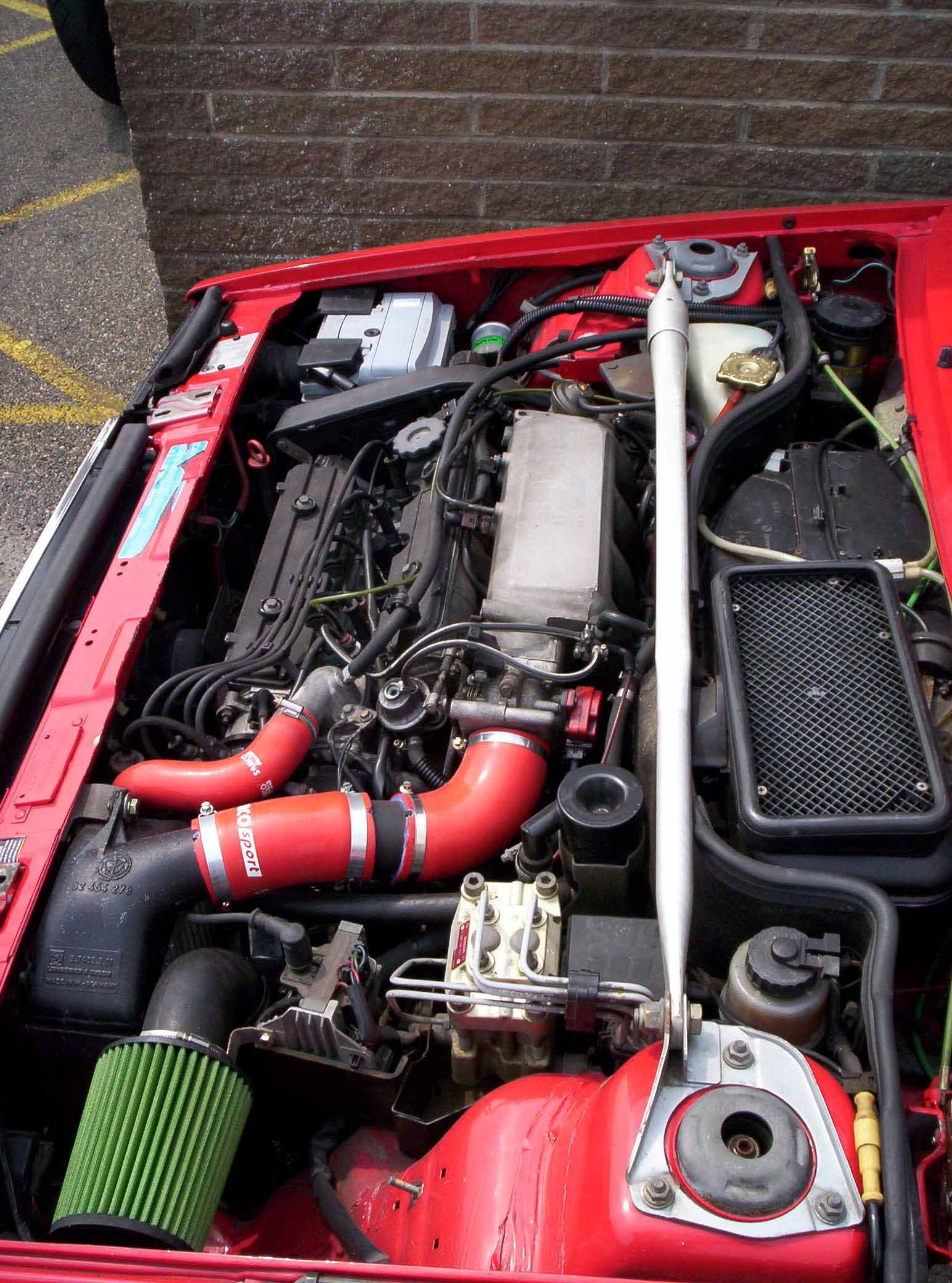 Engine bay | Lancia delta, Cool cars, Delta