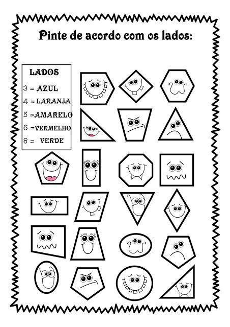 Formas Geometricas Aulas De Matematica