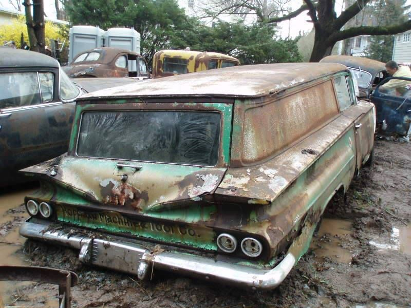 1960 Chevy Panel Wagon Jpm Entertainment Abandoned Cars Station Wagon Cars Wagon Cars