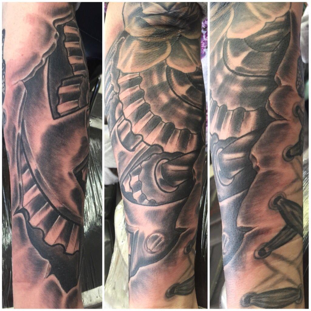 Gears Tattoo Ink Junkies Arvada Co Gear Tattoo Tattoos Ink