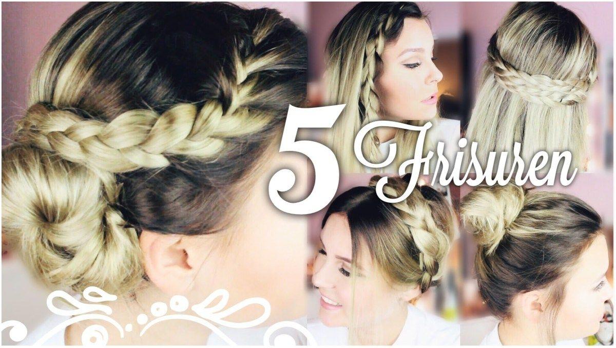 5 Schone Easy 5 Minuten Frisuren Dagi Bee Youtube Friseur Frisuren Frisuren Frisuren Selber Machen Dirndl Frisuren Leicht